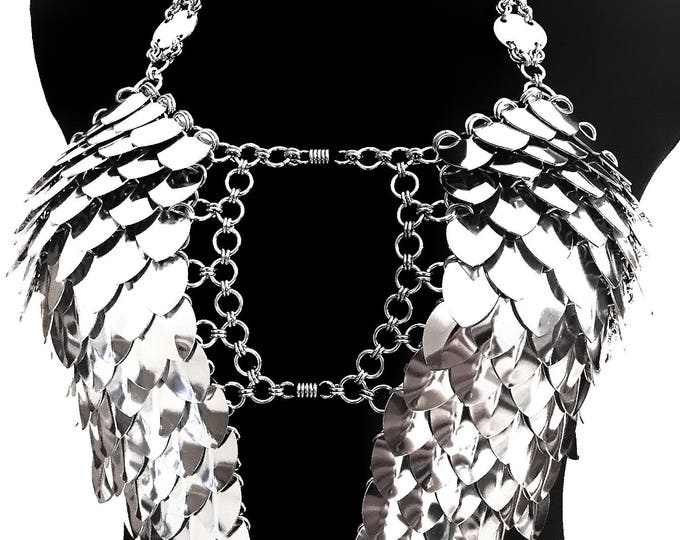 Featured listing image: Dress 'Wings' - Cool FASHIONSTYLE in metal