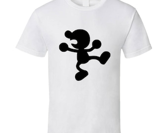 Mr. Game And Watch Nintendo Video Game T Shirt