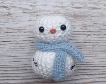 Snowman Crochet Amigurumi