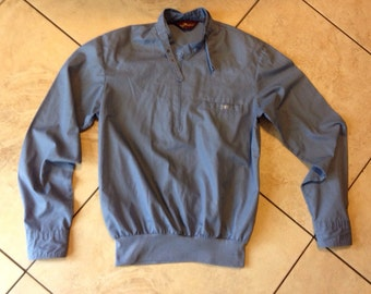 Sergio Valente M blue shirt long sleeve vintage
