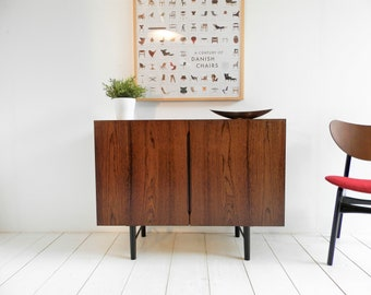 Vintage Sideboard / Record Cabinet / Filing Cabinet - Mid Century Modern Retro