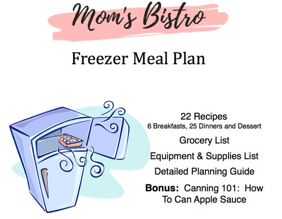 freezer meal plan detailed freezer meal planning guide with