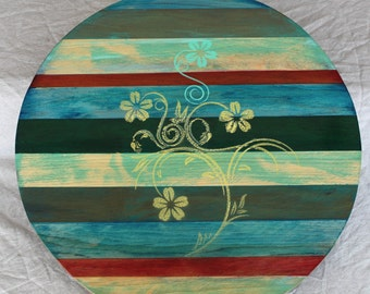 Handcrafted Lazy Susan