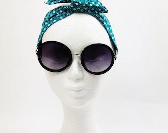 country green headband