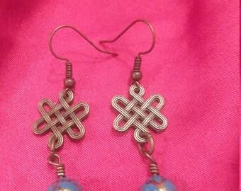 Old World earrings