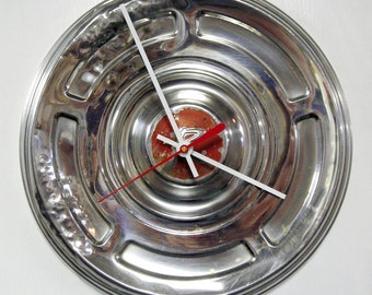 1966 - 1967 Rambler American Hubcap Wall Clock