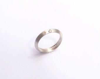 Love Promise Cinnamon diamond ring