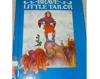 Brave Little Tailor - by Brothers Grimm - Troll Associates - ISBN 0-89375-137-5