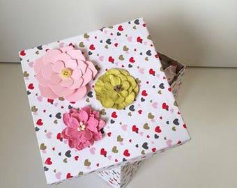 Handmade Personalized Gift Box