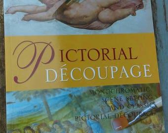 How to do decoupage,decoupage book,decoupage projects,Italian decoupage tips book,Pictorial decoupage,