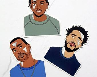 Hip Hop Sticker Pack 2