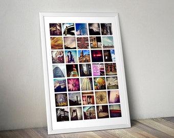 LIMITED EDITION Manchester Urban Landscapes Poster