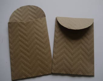 75 x mini kraft paper bags seed packets envelopes,gift favor confetti, party wedding 2.4 x3.5in mini bags