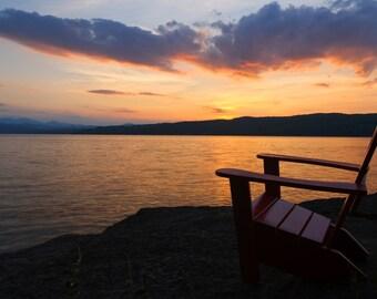 Basin Harbor - Sunset