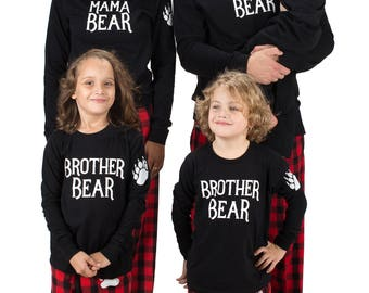 Custom Kamal Ohava Bear Family Matching Pajamas