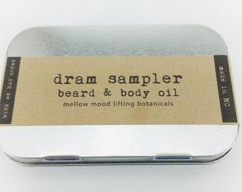 Dram Sampler Beard and Body Oil