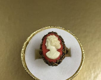 Cameo Ring West Germany