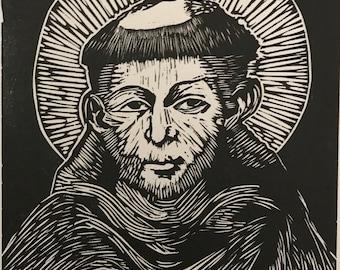 Cimabue St. Francis Print