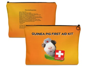 Guinea Pig First Aid Kit Bag
