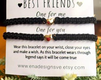 Best Friends Matching Bracelets Macrame