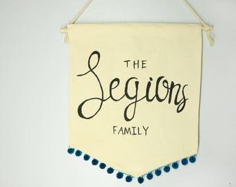 Wedding gift, Door Hanger, Personalized Banner, Door Hanger, Boho Decor, Boho Wedding, Christmas Decor,Thanksgiving Decor