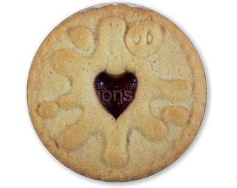 Jam Filled Cookie Round Mousepad