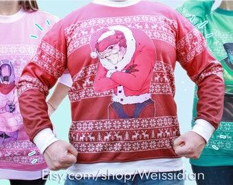 Mass Effect Christmas Sweaters