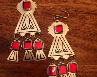 Berber earrings gypsy earrings