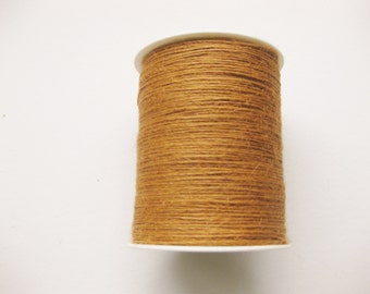 50 Yards of 1mm Antique Gold Jute Twine