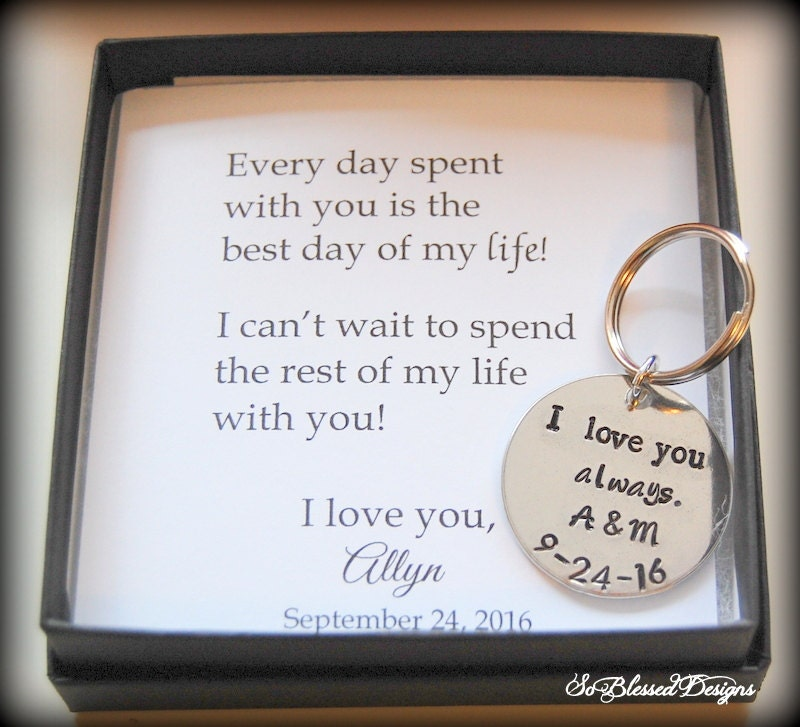 GROOM Gift From Bride Wedding Day Gift To Groom From Bride