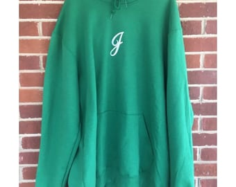 JuxtSuppose Champion Letter Hoodie 1/1, Large