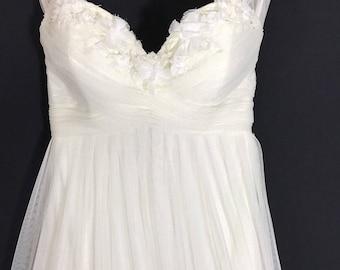 Vintage Empire Waist Wedding Dress