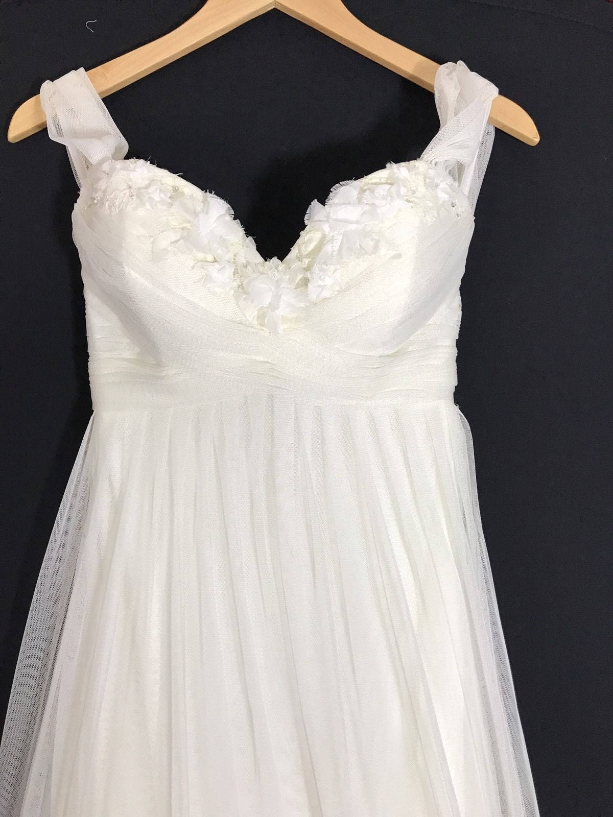 Vintage Empire Waist Wedding Dress