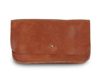 """Purse """"Ruth"""" Cognac leather purse"""