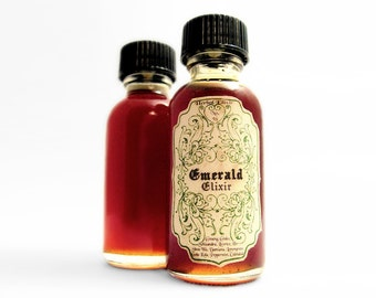 Infused Honey- Emerald Elixir. Herbal Honey:  1 oz. With Ginseng, Ginko, Schizandra & Gotu Kola.