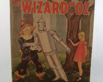 Wizard of Oz Vintage Coloring Book