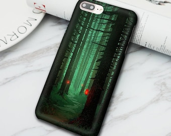 Forest of the night 3D Print Phone Case for Iphone 6 6S 6 plus 6S Plus 7 7 Plus / Samsung Galaxy S6 S7 S6/S7 dge/S8 Phone Shell