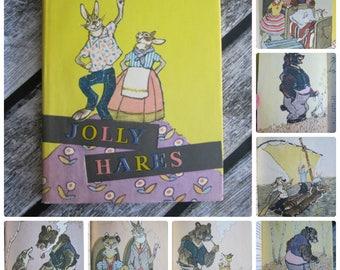 Rachev Sergei Mikhalkov Jolly Hares Gift collector vintage rare books collector's edition collectible find USSR vintage gift collectable