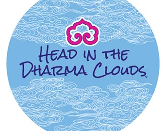 Head in the Dharma Clouds © Stickers