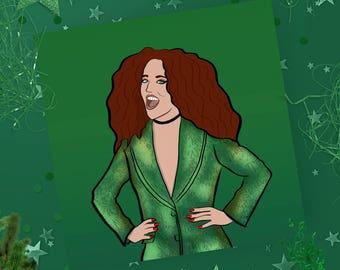 Christmas card - Jess Glynn - Pop culture card - Greeting Card