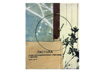 FACTURA original collage art