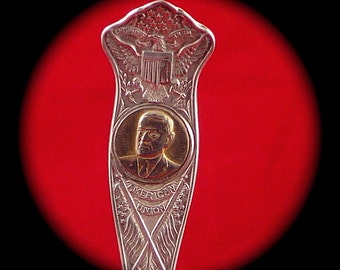 Warren G Harding Collector Spoon
