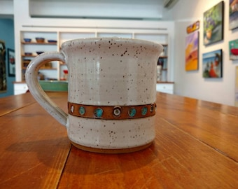 Handmade 14 oz coffee mug