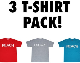 3 T-Shirt Pack - Buy 3 & Save Money