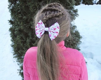 Pink Watermelon Bow