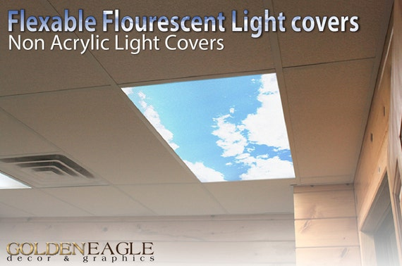 Flexible Fluorescent Light Cover Films Skylight