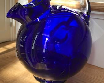 Cambridge Cobalt Blue Pitcher