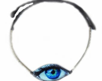 Smokey Eye in blue