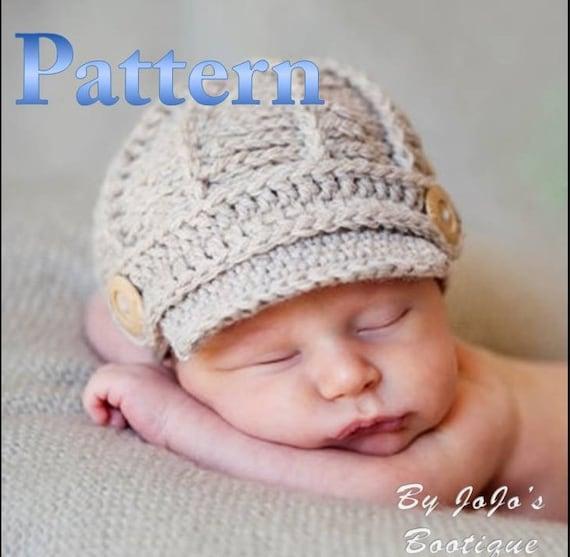 34bcce08a70 ... sweden pdf newsboy hat pattern crochet baby newsboy hat pattern newborn  to 3 month sizes crochet ...