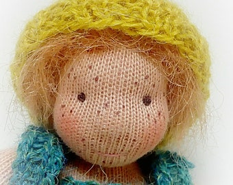 Little Per a Waldorf inspired doll
